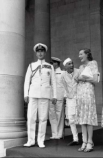 Lord Mountbatten, Edwina Mountbatten and Jawaharlal Nehru - the Happy Threesome!